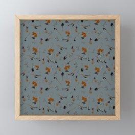 Gray Farm Harvest Framed Mini Art Print