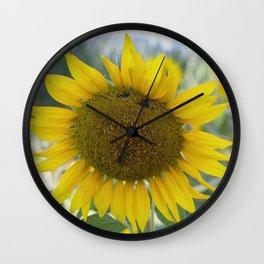 Summer Sunflower Wall Clock