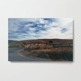 Wine Country Landscape Metal Print