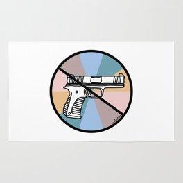 No Guns 1 Rug