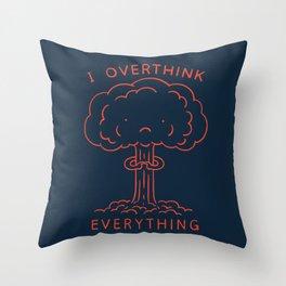 Overthink Throw Pillow