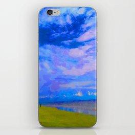 Horizon at Icacos iPhone Skin