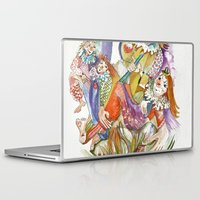 feet Laptop & iPad Skins featuring RB Feet by CrismanArt