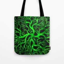 Emerald Branches Tote Bag