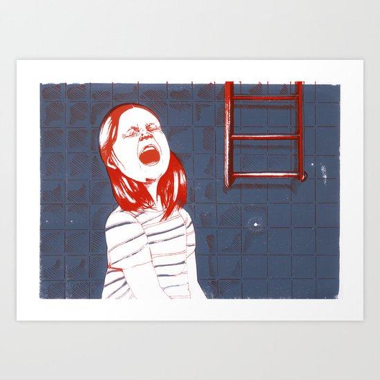 teddy Art Print