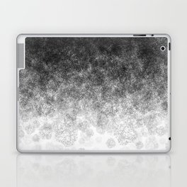 Disappearing Fog - Black and White Gradient Laptop & iPad Skin