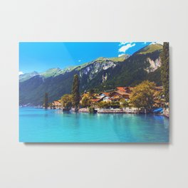 Brienz, Switzerland Metal Print