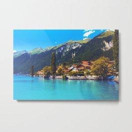Brienz, Switzerland Metal Print