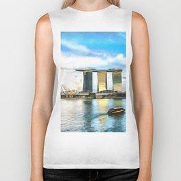 Hotel Marina Bay Sands and ArtScience Museum, Singapore Biker Tank