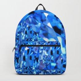 SEPTEMBER BLUE TOPAZ GEMMY  BIRTHSTONE ART Backpack