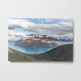 The island cloud ocean Metal Print