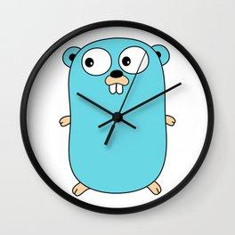 Gopher - Golang Wall Clock