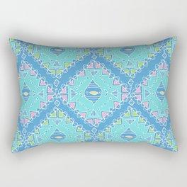 Colourful Diamond Pattern Rectangular Pillow