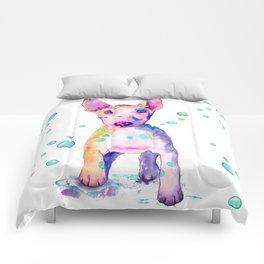 Terrier Bubbles Comforters
