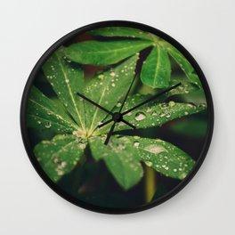 Mood Rain Wall Clock