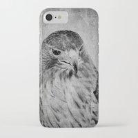 hawk iPhone & iPod Cases featuring Hawk by SilverSatellite