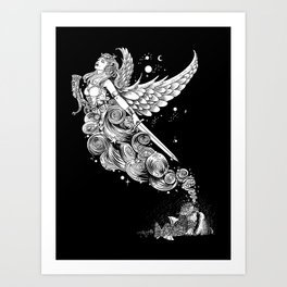 The Night Before the Battle Art Print