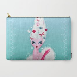 Christmas Coiffure Carry-All Pouch