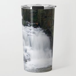 Lumsdale waterall Travel Mug