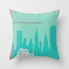 Welcome to Townsville Throw Pillow