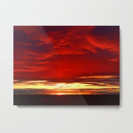 Devil sky Above Metal Print