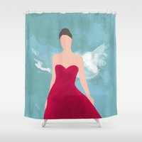 fairy tale Shower Curtains featuring Fairy Tale by 83 Oranges™