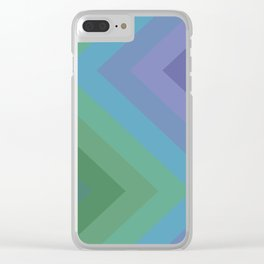 Cool Down Clear iPhone Case