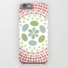Retro floral circle 1 iPhone 6s Slim Case