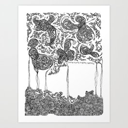 """""""let's think of a wine glass, I often do."""" Art Print"""