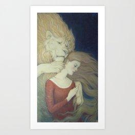 For a Rose Art Print