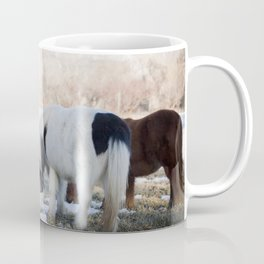 mini horses and a view Coffee Mug