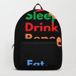 Eat. Sleep. Drink Milk. Repeat. Backpack