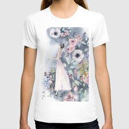 Ballerina and flowers n.3 T-shirt