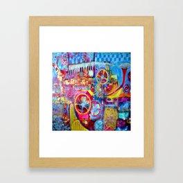 Steam Punk Music Box  Framed Art Print