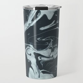 Ruin - Dark Suminagashi Marble Series: 02 Travel Mug