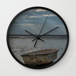 Old Boat Wall Clock