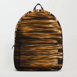 Sunset Ripples (Lake Balaton) Backpack
