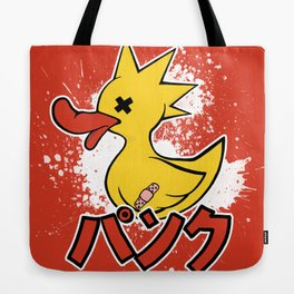 Punk Duck Tote Bag