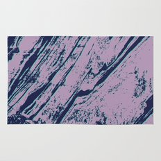 Lilac marble effect Rug