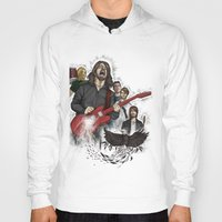 foo fighters Hoodies featuring Foo Fighting by Jaimie