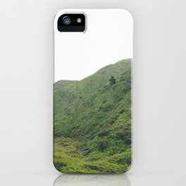 Green Mountains in California iPhone Case