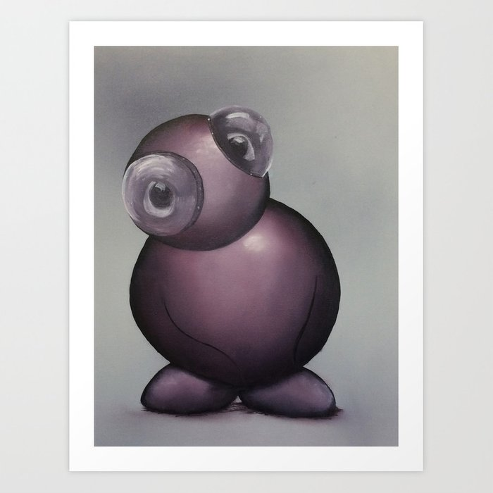 Infatubot Art Print