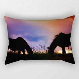 Wild West Romance Rectangular Pillow