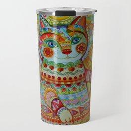 Sun cat Travel Mug