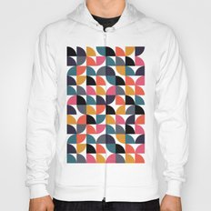 Quarter pattern Hoody