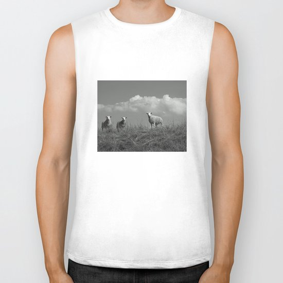 Still waiting for what is to come Biker Tank