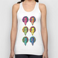 dana scully Tank Tops featuring Scully by Sam Del Valle