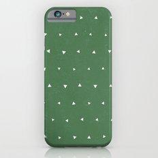 Geo Triangles Avacado iPhone 6s Slim Case