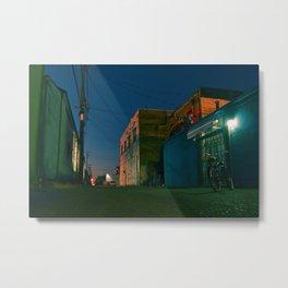 Tacoma urban alley Metal Print