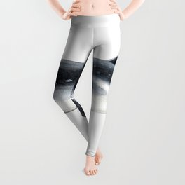 Bryde´s whale and baby whale Leggings